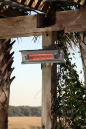 Stainless Steel Wall Mounted Infrared Patio Heater