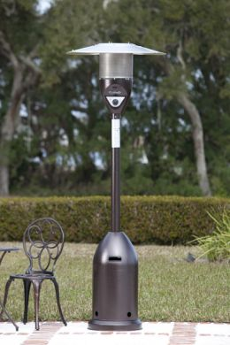 Hammer Tone Bronze Deluxe Patio Heater