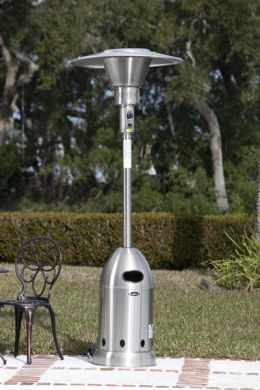 Stainless Steel Elite Bullet Patio Heater