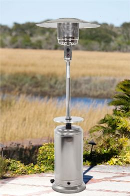 Stainless Steel Standard Series Patio Heater with Adjustable Table