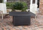 Extruded Aluminum Rectangular LPG Fire Pit