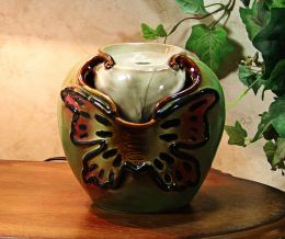 Ceramic Butterfly Table Fountain