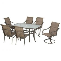 Bethany Grand Banks Collection 7-Piece Patio Furniture Dining Set