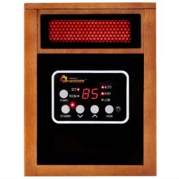 Portable 1500 Watt Infrared Space Heater with Remote Control