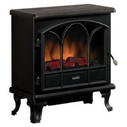 1500-Watts Large Stove Style Electric Fireplace Space Heater
