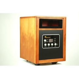 1500W Portable Quartz Infrared Space Heater with Remote Control