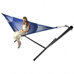 Sunnydaze Double Mayan Hammock and Stand Combo