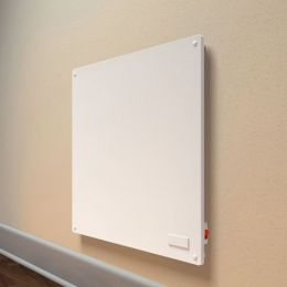 Energy Efficient Wall Panel Convection Space Heater in White