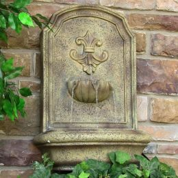 Sunnydaze Noblesse Outdoor Wall Fountain