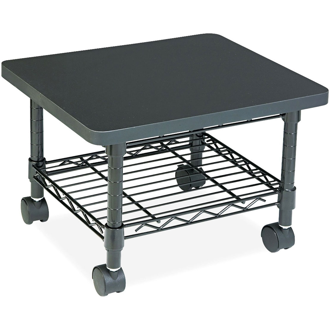 drawer organizing with mobile x printer desk side kantek black com amazon dp shelf stand products office