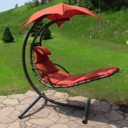 Sunnydaze Floating Chaise Lounge Chair