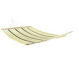 Sunnydaze Sandy Beach Double Fabric Hammock w/ Spreader Bar