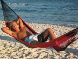 Sunnydaze Single Mayan Hammock