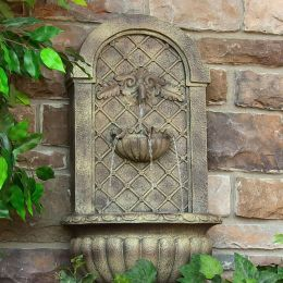 Sunnydaze Venetian Outdoor Wall Fountain